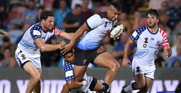 Fiji Scored Another Three Tries Through Taane Milne Akuila Uate And Kane Evans