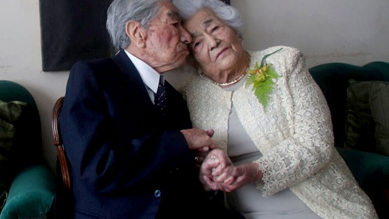Ecuadorian spouses become oldest married couple