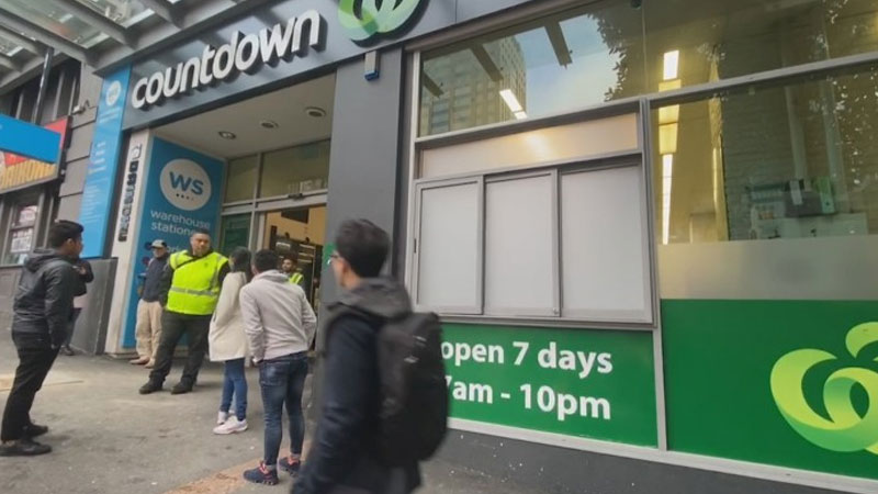 Coronavirus: Victoria St Countdown accidentally reopened day after Covid-19 case visit