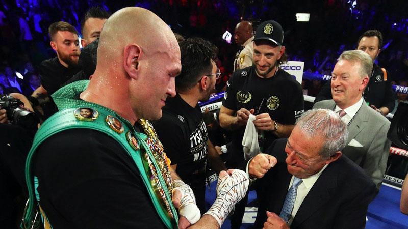 Tyson Fury plans December 5 fight in London; Deontay Wilder unlikely