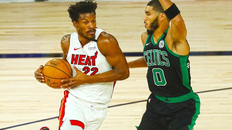 Miami Heat lead Boston Celtics 2-0 in Eastern Conference finals