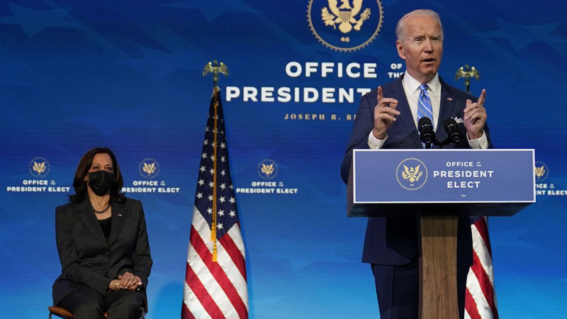 Biden lays out plan to get America vaccinated