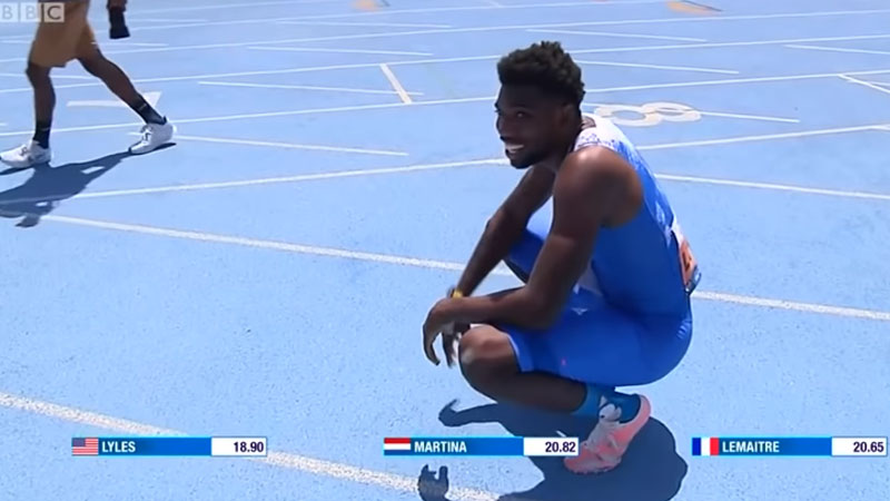 World Champion Noah Lyles 200 metres world record ruled out as he ...