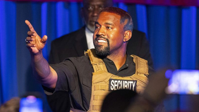 Kanye West campaign rally part of 'terrible' bipolar episode