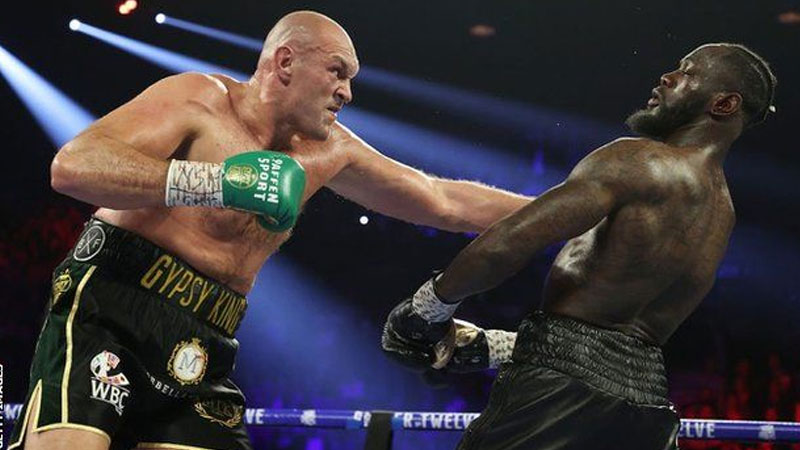 Honour the agreement - Wilder to Fury