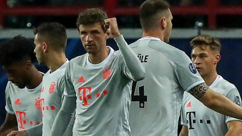 UCL: Bayern edge past Lokomotiv to stretch winning run