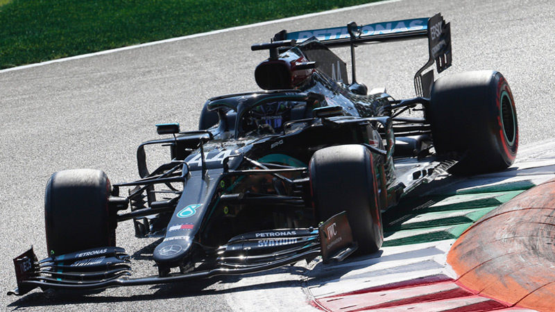 Lewis Hamilton Drives The Fastest Lap In F1 History