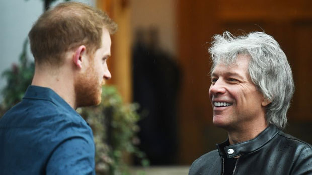 Prince Harry and Jon Bon Jovi are releasing a song!