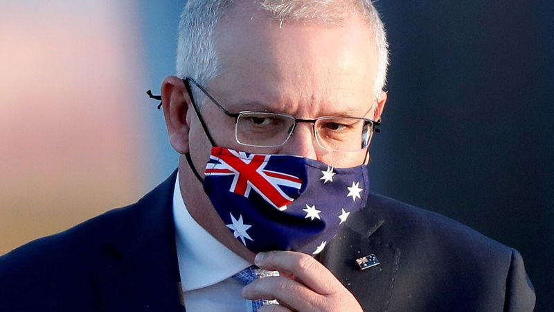Australia's PM says he is in 'no hurry' to reopen borders