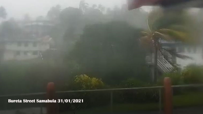 Suva Experiencing Damaging Winds And Heavy Rain