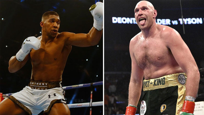 Fury and Joshua agree to two-fight deal for 2021